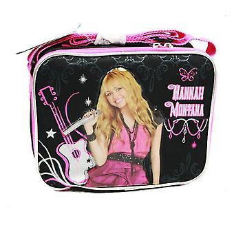 Lunch Bag - Disney - Hannah Montanna - Black Hot Pink New Girls Gifts a00204