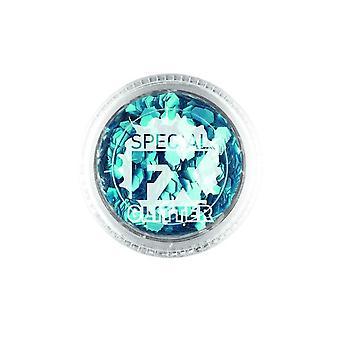 Confetti Glitter Blue 2g Loose, Facepaint/Makeup