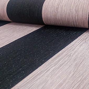 Debona Crystal Stripe wzór w paski teksturowane brokat Vinyl tapeta 9010