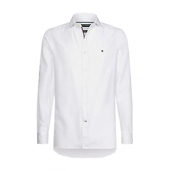 Tommy Hilfiger Slim Fit  Stretch Cotton Shirt Bright White