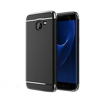 Bakstycket 3 i 1 för Samsung j7 svart + silver