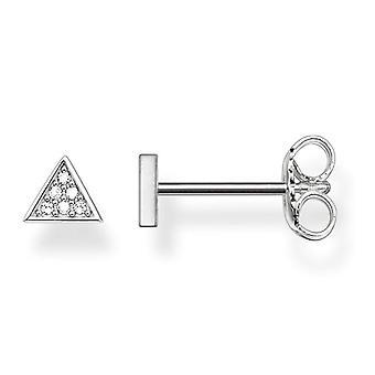 Thomas Sabo 925 Silver White Diamond ENDEARRING D_H0002-725-14