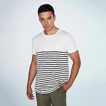 Front Row Adults Unisex Breton Striped T-Shirt