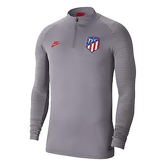 2019-2020 Atletico Madrid Nike Drill Training Top (Gunsmoke)
