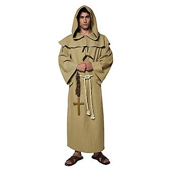 Mens frate Tuck Fancy Dress Costume