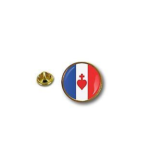 "Pins Pin Badge Pin's Metal Broche Pince Papillon Drapeau Sacre Cå""Ur France R8"