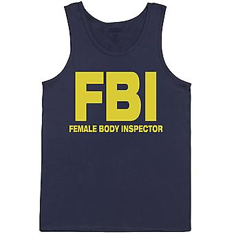 FBI - Female Body Inspector - Herrenweste