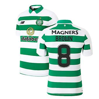 2019-2020 Celtic Home Shirt (Brown 8)