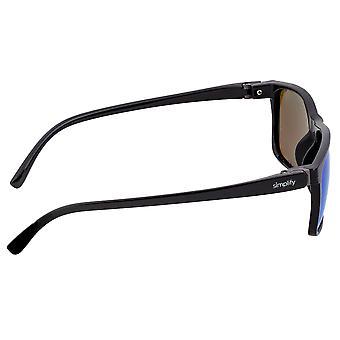 Simplify Ellis Polarized Sunglasses - Black/Blue