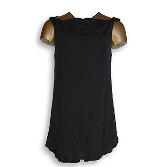 H by Halston Women's Top Sleeveless Knit Top Twist Black A276470