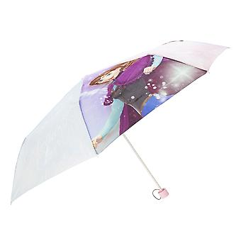 Frozen Childrens / Copii de vacanță Cheer Fold Up Umbrella de Crăciun