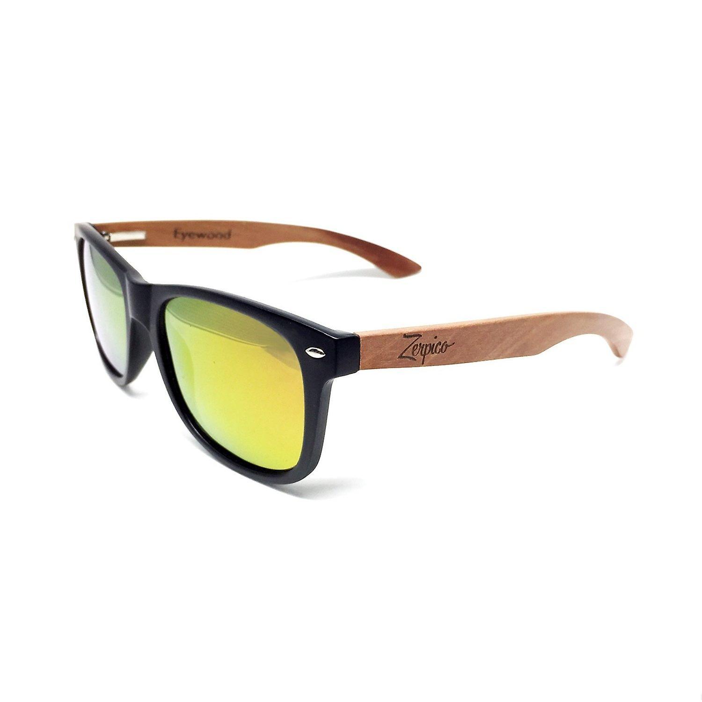 Eyewood Sunglasses - Wayfarer - Amber