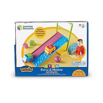Learning Resources - STEM Force & Motion Activity Set