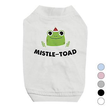 Mistle Toad Funny Holiday Pets Shirt X-mas Gift