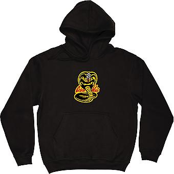 Cobra Kai musta huppari-Top