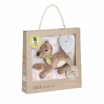 Laessig Lassig Baby Geschenkset Lela Light Pink