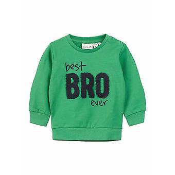 Name-It Groene Sweater Dada Best Bro Ever