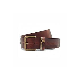 Cintura in pelle Mens Tan Catchup Ted Baker