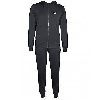 EA7 heren ' s kleding Emporio Armani mannen ' s carbon melange trainingspak