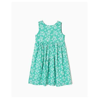 Zippy Flowered Dress