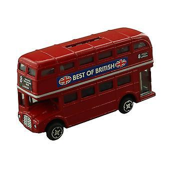 纪念品伦敦红色巴士货币银行