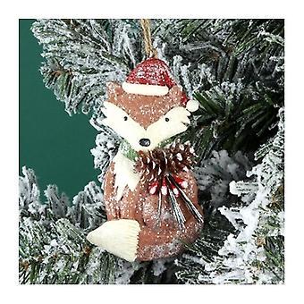 Decorazione albero di Natale di Woodland Fox