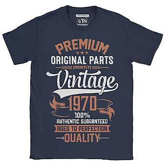 50th birthday t shirt 1970 all original parts 2020 birthday funny gift idea