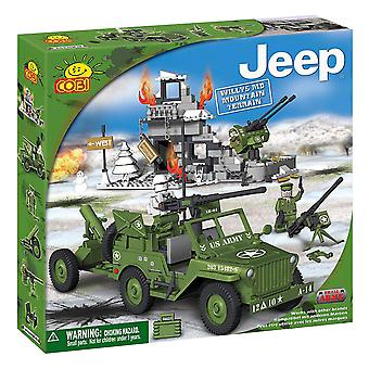 Small Army 300p Willys MB Jeep Mountain Terrain Construct St