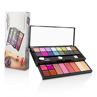 Make up kit deluxe g2219 (16x eyeshadow, 4x blusher, 1x pressed powder, 4x lipgloss, 2x applicator) 214054 -