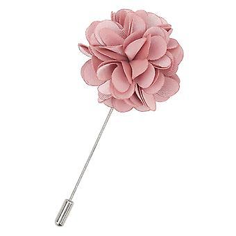 Stoffige roze vlakte Satijnen Revers Pin