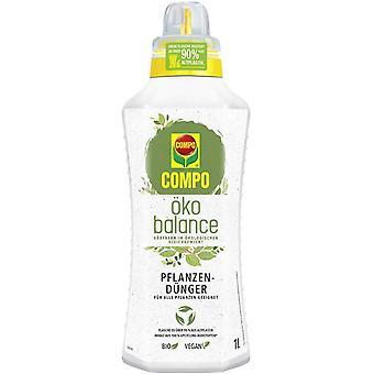 COMPO eco balance Plant fertilizer, 1 litre