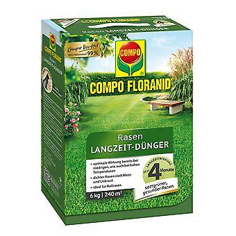 COMPO Floranid® long-term lawn fertilizer, 6 kg
