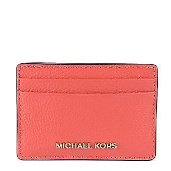 MICHAEL by Michael Kors Jet Set Pink Grapefruit Card Holder