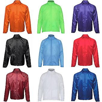 2786 Unisex Lightweight Plain Wind & Shower Resistant Jacket