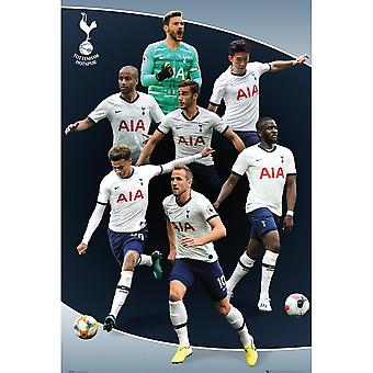 Tottenham Hotspur FC Team Players Affiche