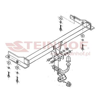 Steinhof Tow Bars And Hitches for POLO 1994 to 1999