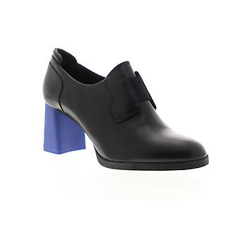 Camper Kara Womens schwarz Leder Heels Slip On Pumps Schuhe