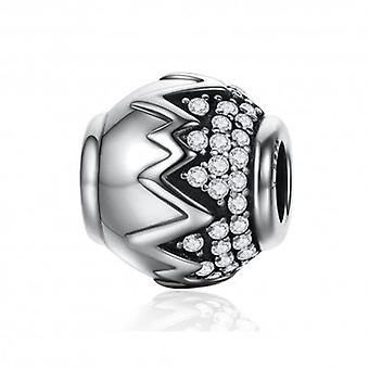 Sterling Silver Charm Lysande Wave - 5285