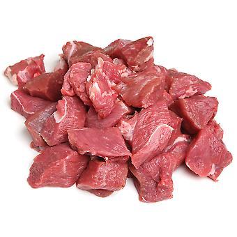 William White Frozen Halal Diced Lamb Free Flow