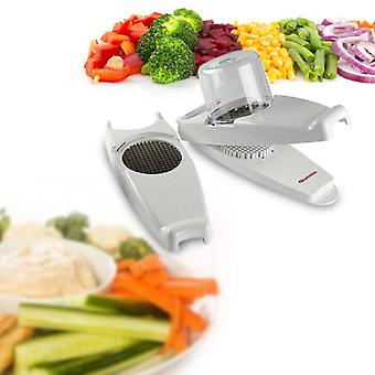 Vegetables Cutter and Peeler Quttin White (28 X 10,5 cm)
