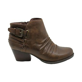 Bare Traps Womens Reid Cuir Amande Toe Ankle Fashion Boots