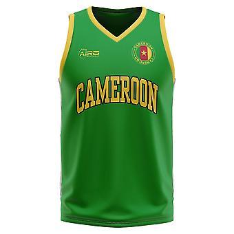 カメルーン ホーム コンセプト バスケットボール シャツ