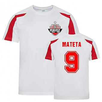 Jean-Philippe Mateta Mainz Sports Training Jersey (Hvid)