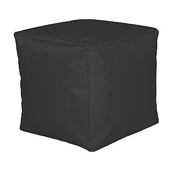 Seat cube nylon anthracite large 40 x 40 x 40 with filling