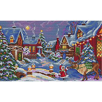 Merejka Cross Stitch Kit - The Christmas Guest