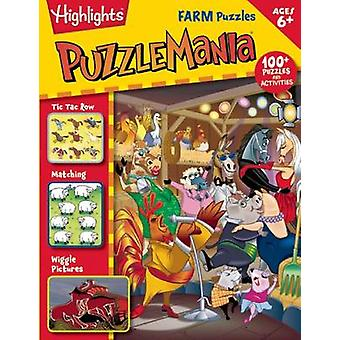 Farm Puzzles by Highlights for Children - 9781629792026 Book