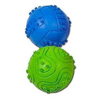 Nayeco legetøj gummibold præget (hunde, legetøj & Sport, i latex)