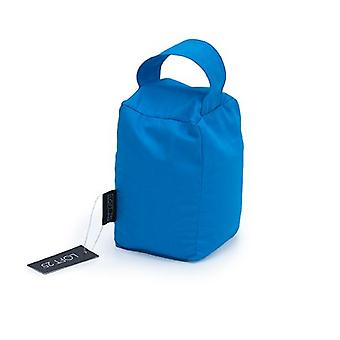 Essentials by Loft 25� Turquoise Cotton Twill Door Stop Bag Weight with Carry Handle