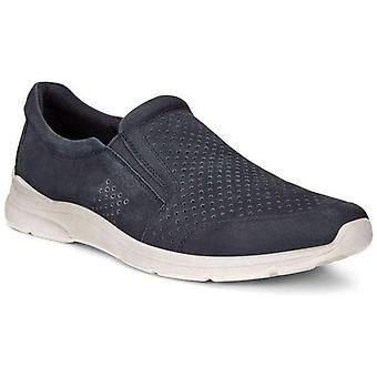 Ecco irving loafers mens blue