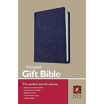 NLT Compact Gift Bible - Navy by Tyndale - 9781496433497 Book